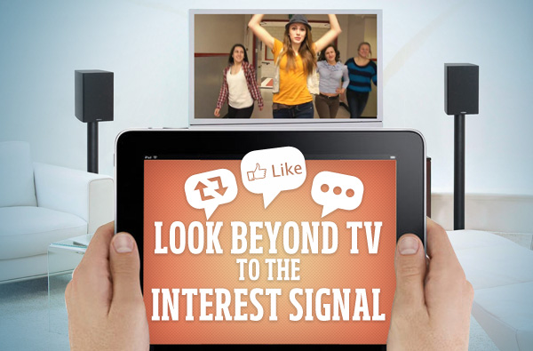 Look beyond the TV signal to the Interest Graph